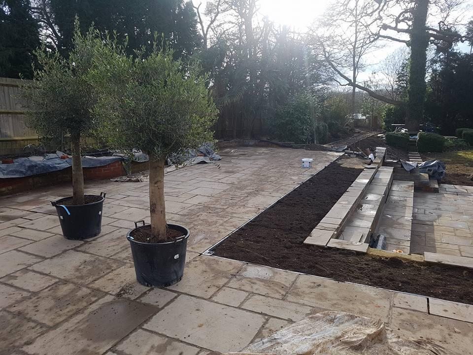 Landscaping & Patios Work